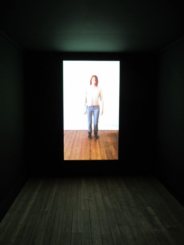 Still photo of the video installation at KP14, Kunsthal Aarhus, 2014