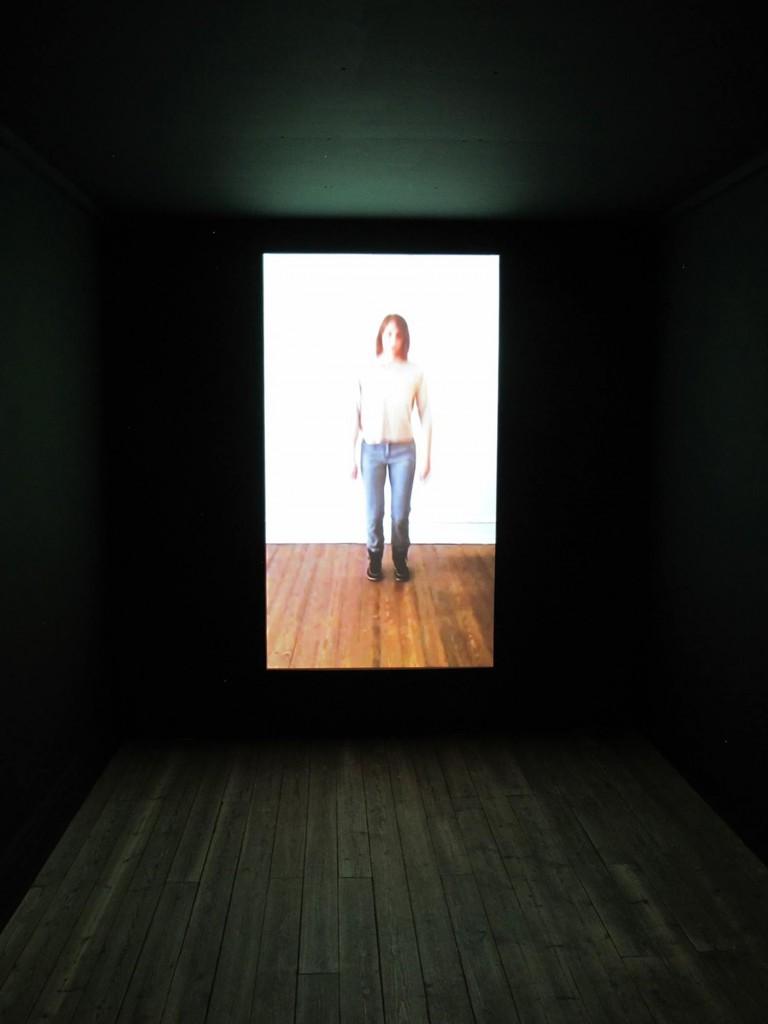Still photo of the video installation at KP14, Kunsthal Aarhus, 2014