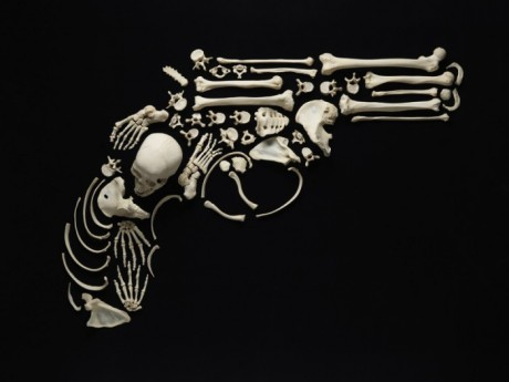 François Robert_Stop The Violence_Gun