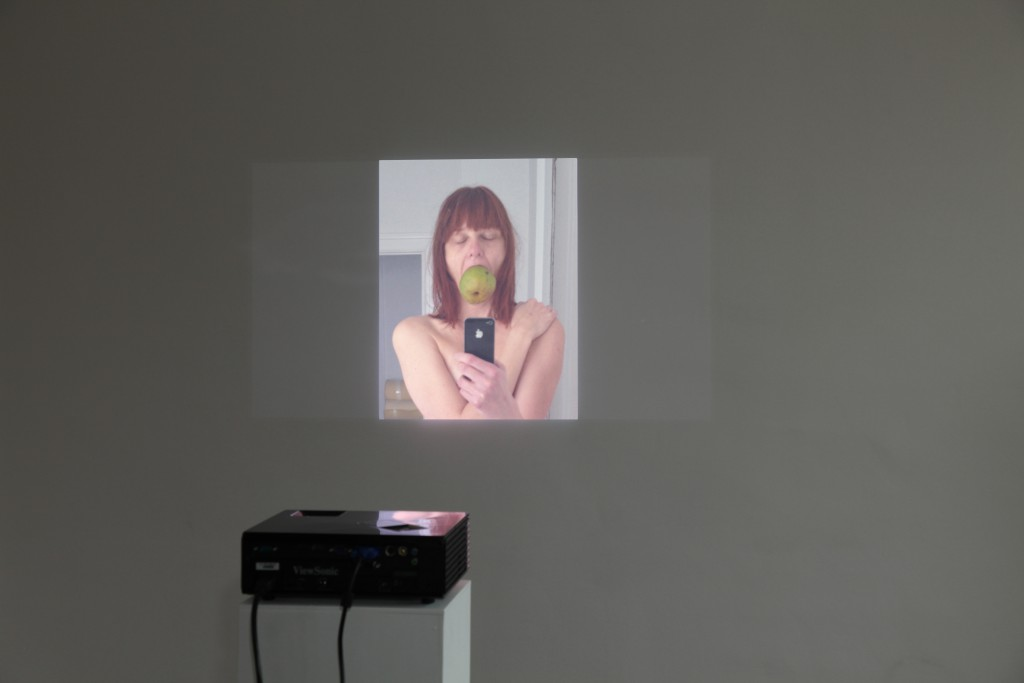 Installation, photo projection, Untitled, 2014