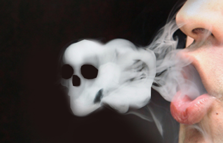 skull in smoke_from satanicgold.tumblr