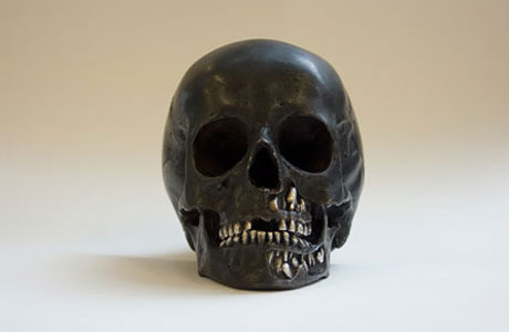 skull_The Fate of Man_Damien Hirst
